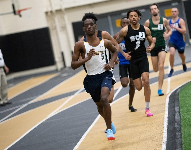 Track and Field Competes at Wagner Invitational