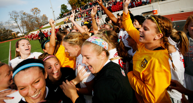 Hornet Women's Soccer Captures Third-Straight ODAC Crown 2-0 over Bridgewater