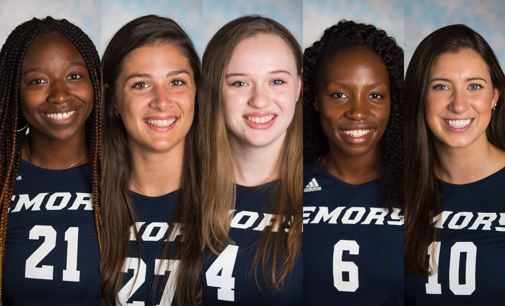 Emory Well Represented On Volleyball All-UAA Team - Saunders Repeats As Player Of the Year