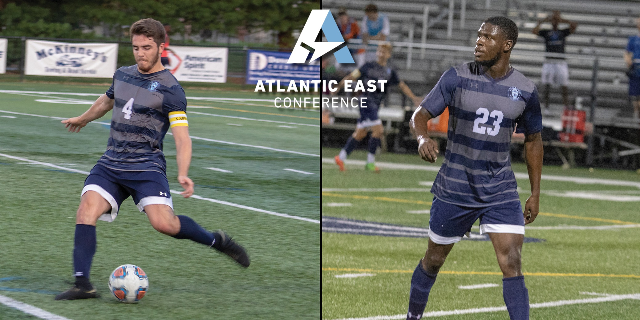 Dina, Ikwuagwu collect Atlantic East Player of the Year awards; Five earn All-Conference