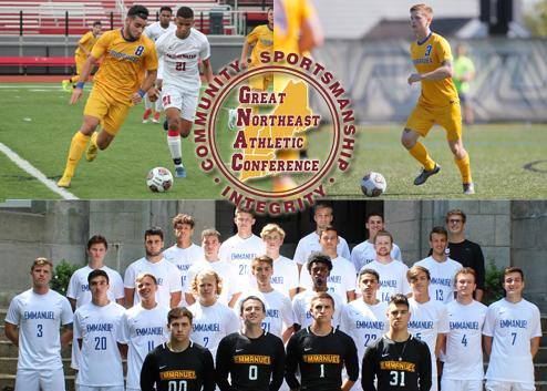 COLE & DANIELIAN NAMED TO ALL-GNAC SQUAD; MEN'S SOCCER EARNS SPORTSMANSHIP AWARD