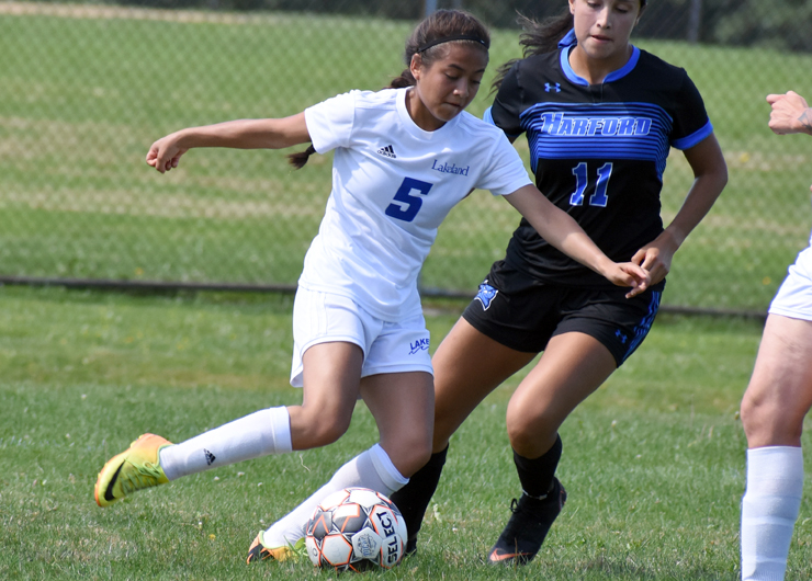 Lakeland unable to hold off Harford in second half, 5-0