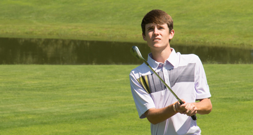 Golden Eagle men's golf team at WKU Kenny Perry Invitational