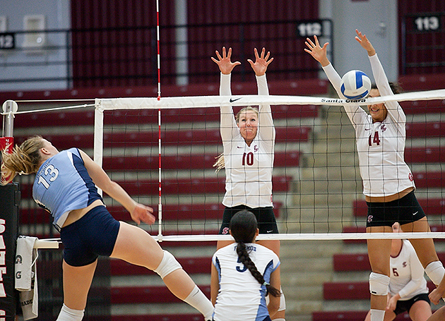 No. 23 San Diego defeats SCU in Volleyball
