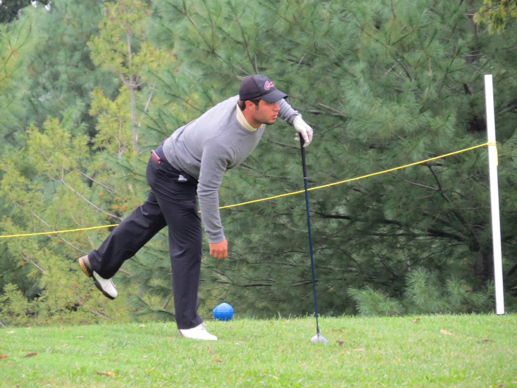 Men's Golf Concludes Two Rounds at Bash at the Beach