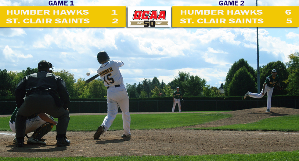 HAWKS SPLIT WITH LEAGUE LEADING SAINTS ON SUNDAY AT HOME
