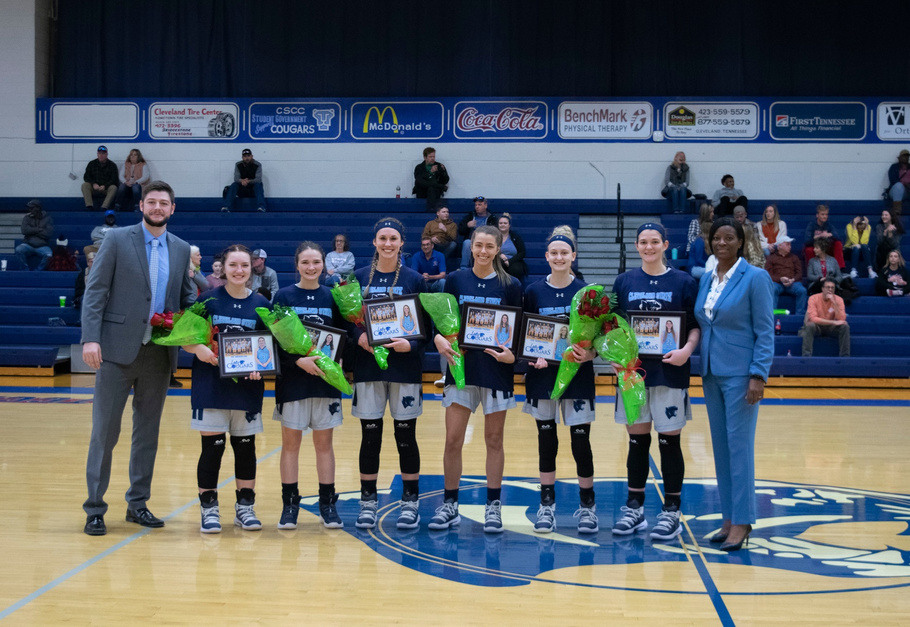 Lady Cougars Fall 59-47 On Sophomore Recognition Day