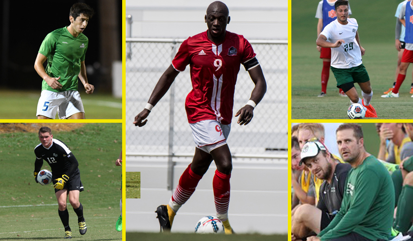 NJIT's Guirassy Voted #ASUNMSOC Player of Year; Hatters Earn Three Honors