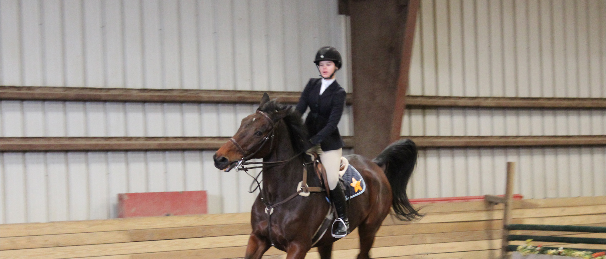 Equestrian opens season at Johnson & Wales