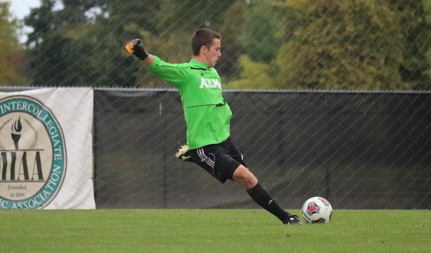 Men's Soccer Tripped Up by Trine 1-0