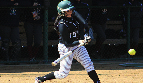 Wildcats Jump Out to Early Leads in CACC Softball Sweep, 8-0 and 11-0, of Nyack