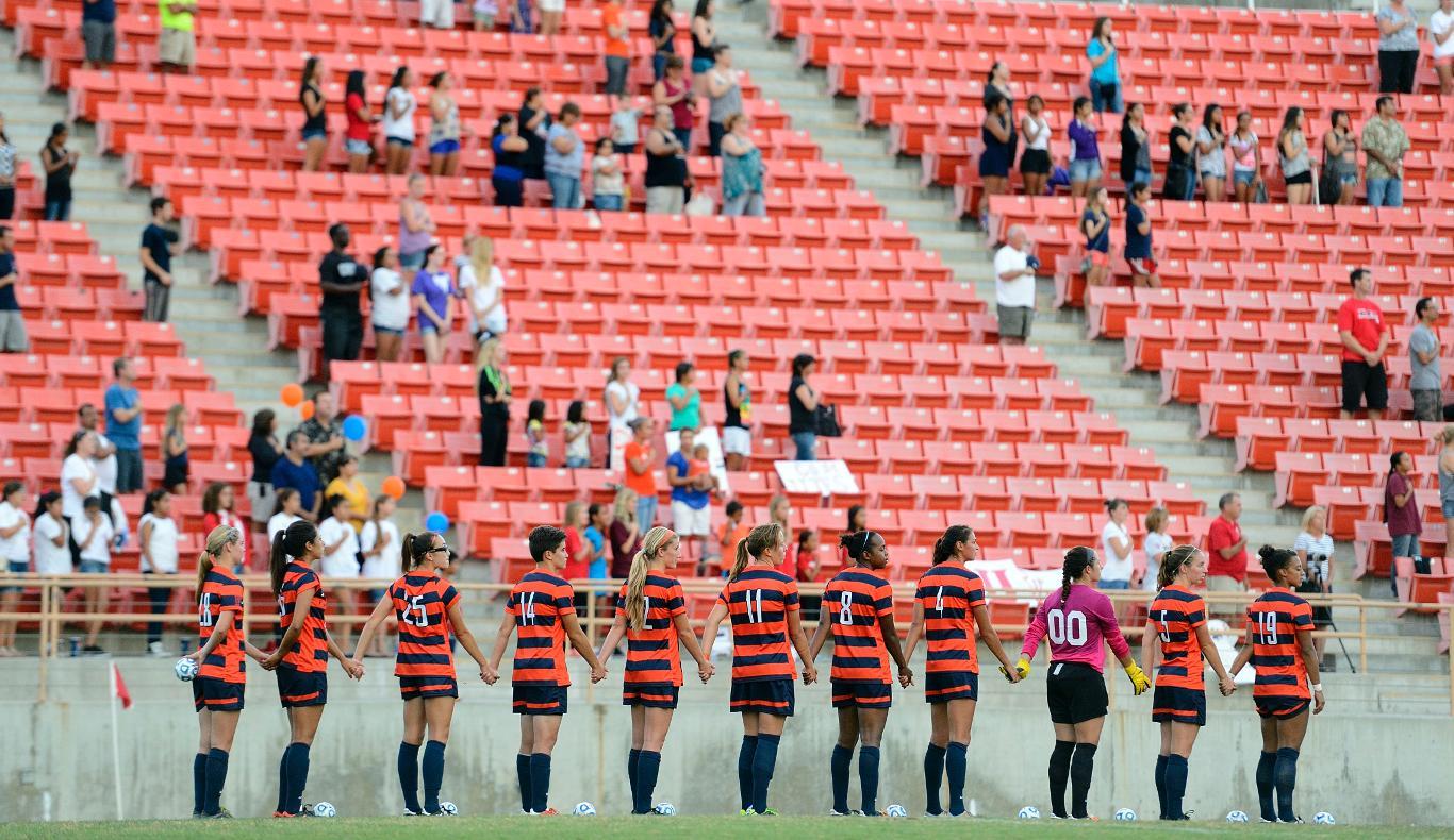 Women's Soccer vs. Utah (Aug. 30, 2013) -- Photos by Matt Brown - Cal State Fullerton Athletics