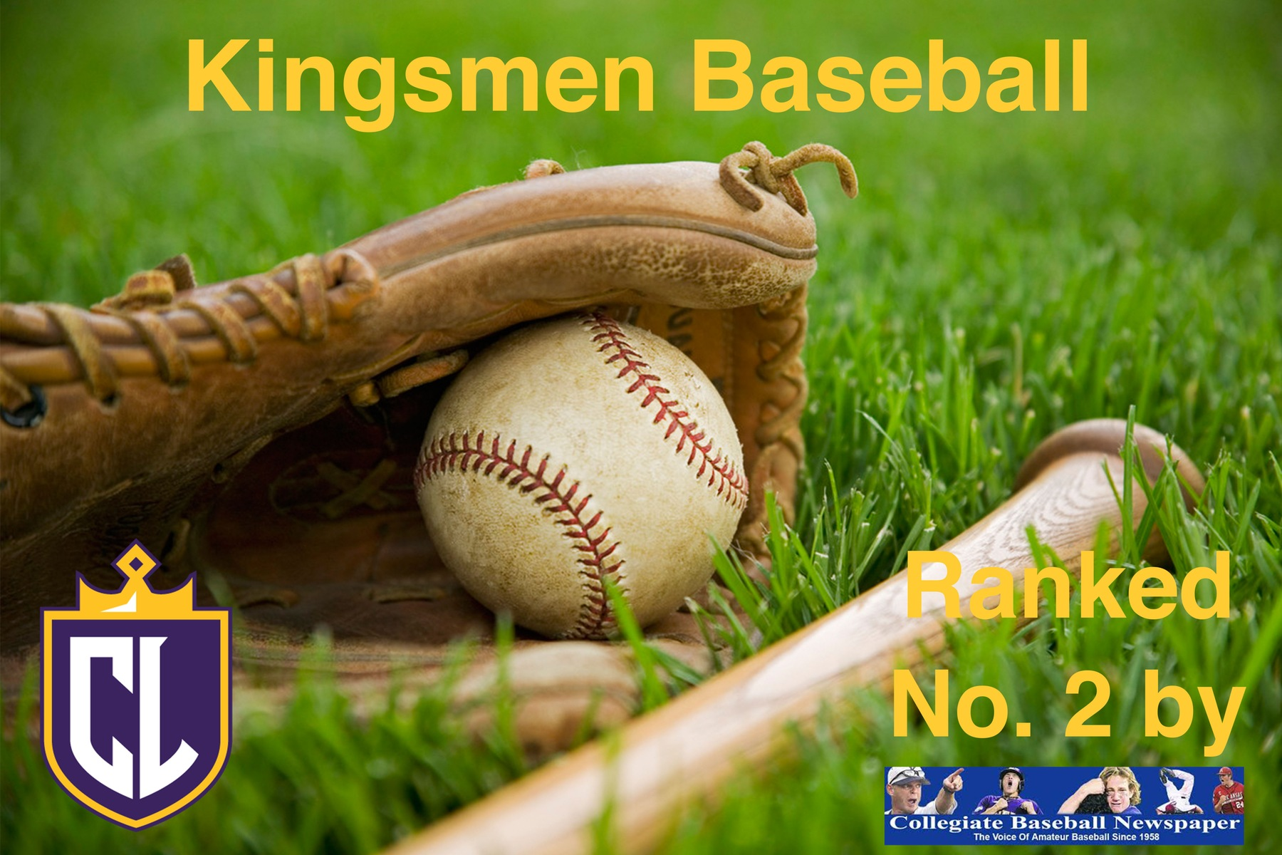 Kingsmen Baseball No. 2 in Opening Poll