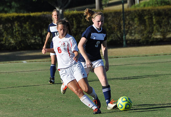 Women's Soccer: Panthers clip Toccoa Falls in overtime