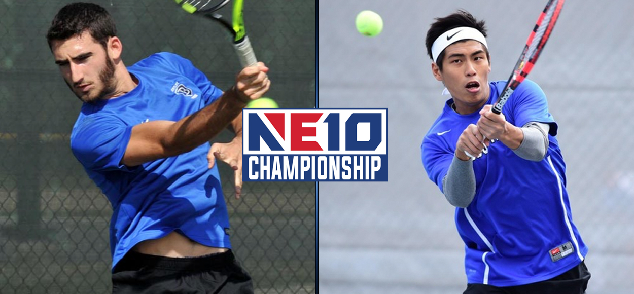 Falcons and Hounds Advance to NE10 Men's Tennis Semifinals