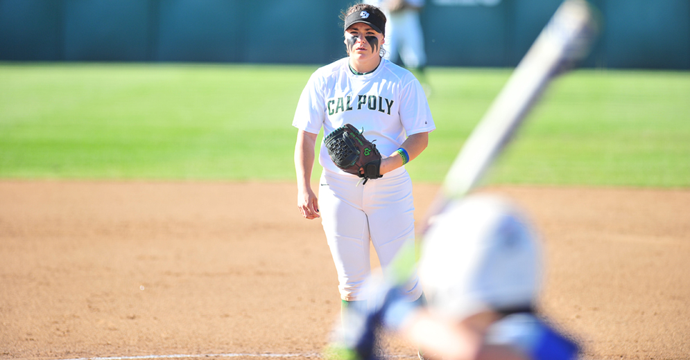 Hyland Tosses 100th Complete Game, but Cal Poly Falls in Nine Innings