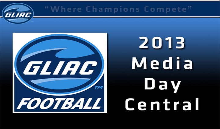 2013 GLIAC Football Media Day Website Officially Launched