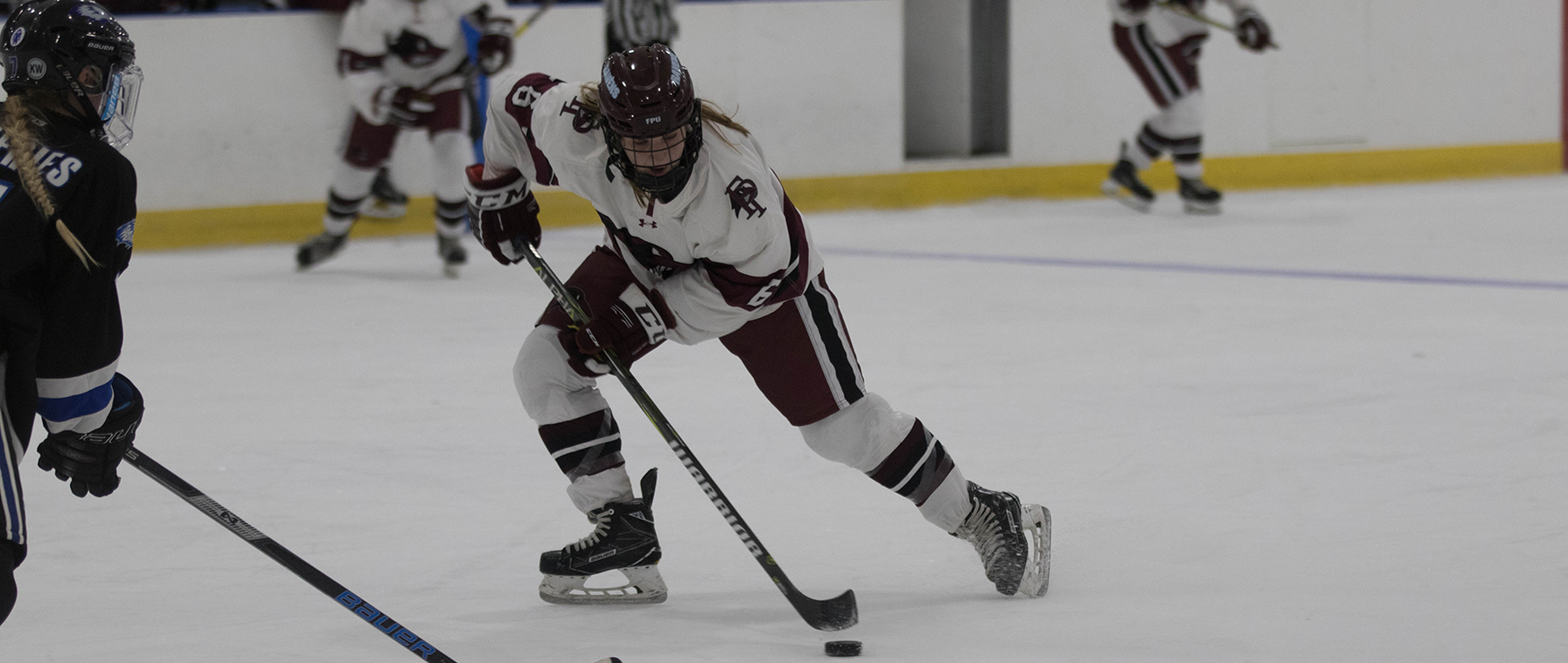 Amato Tallies Hat Trick, Women's Ice Hockey Notches Program's 100th Win, 6-1 over Becker