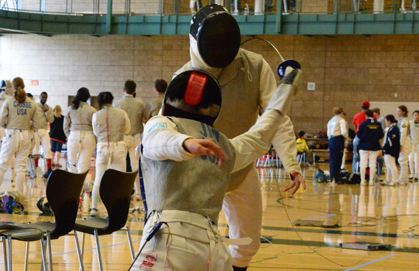 Fencers Compete Among Nation's Best