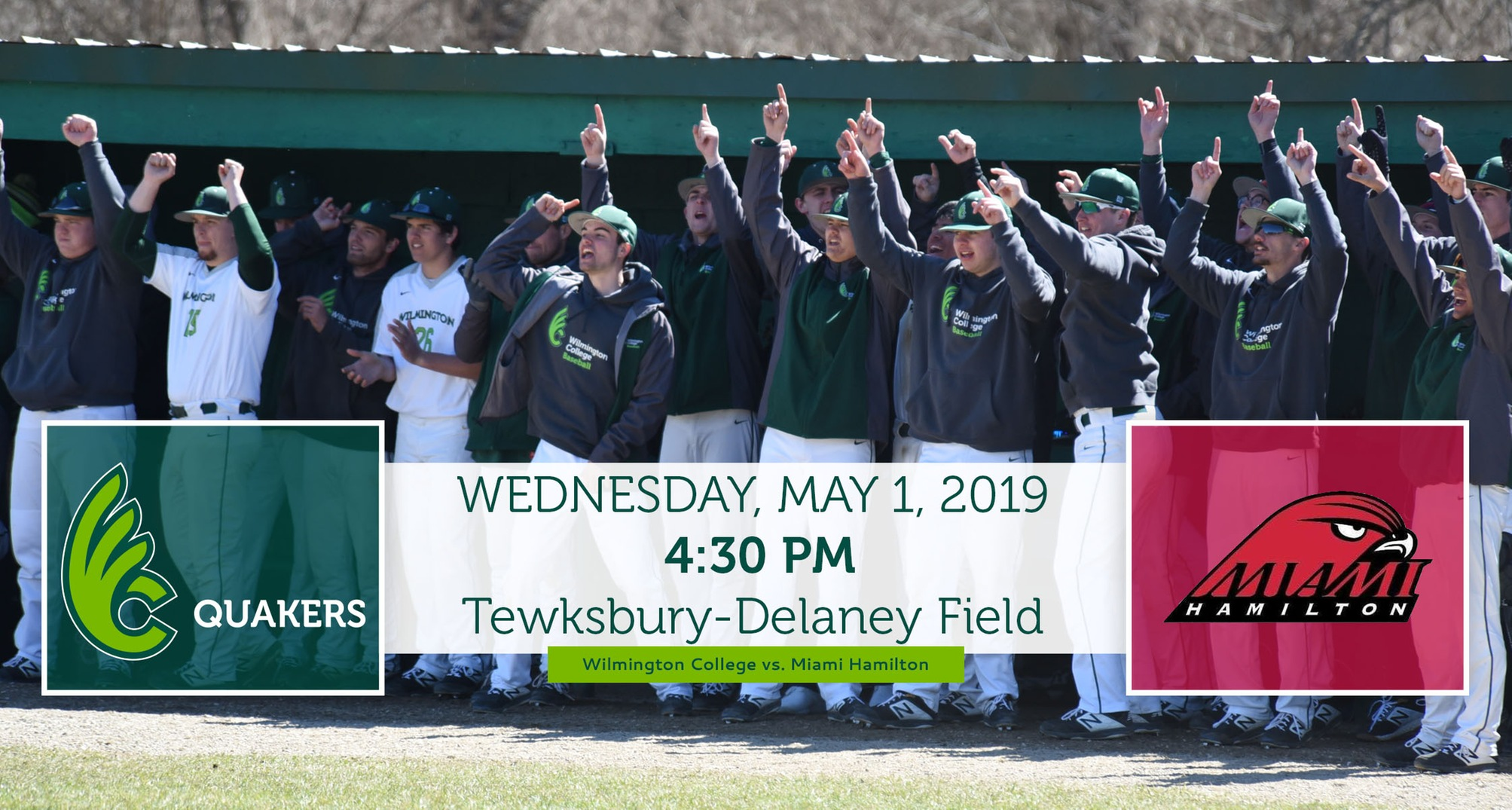 Baseball Hosts Miami Hamilton on Wednesday