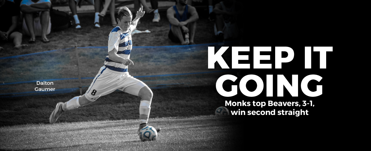 Newcomers Lead Monks Past Beavers, 3-1