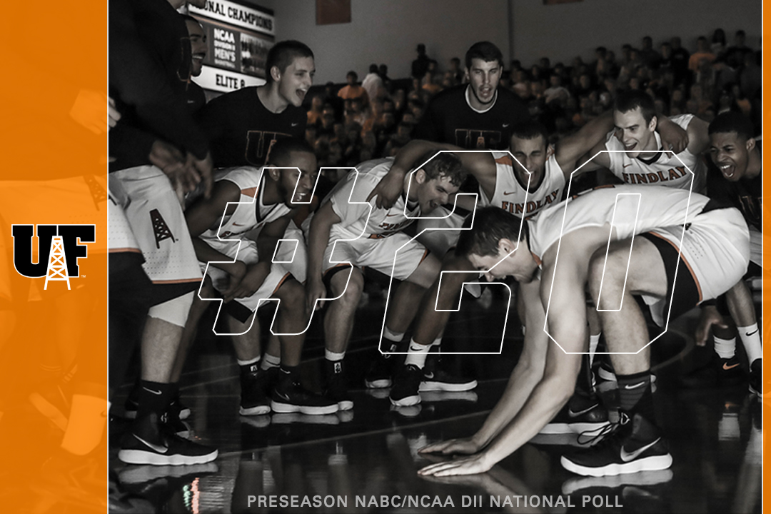 Oilers Ranked 20th in Preseason NABC Poll