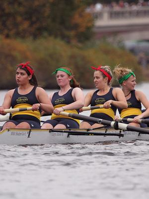 Men's & Women's Crew Enjoy Solid Performances In Quad Regatta On Lake Quinsigamond