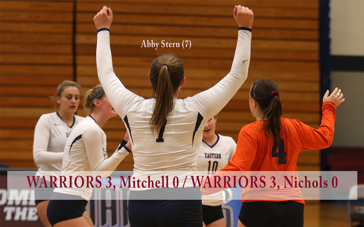 Women's Volleyball: Balanced Effort Leads Warriors to Sweeps in Home-Openers