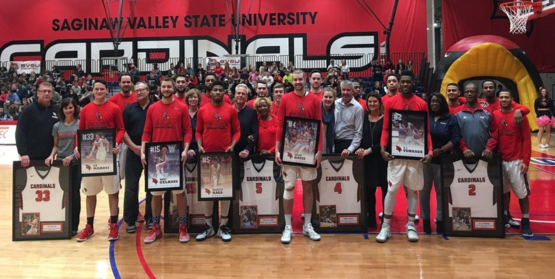 The Cardinals honored all five seniors prior to Saturday night's game against the Timberwolves...