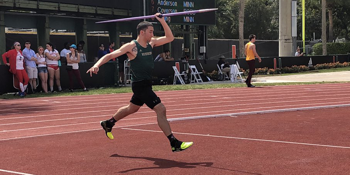 Men's T&F Shines Against Elite Competitors at the University of Miami