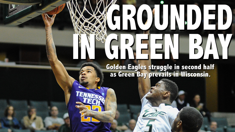 Green Bay steals second half from Golden Eagles, downs Tech in Wisconsin