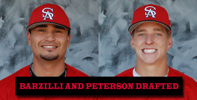 Former Teammates Julian Barzilli and Andy Peterson Selected in MLB Draft