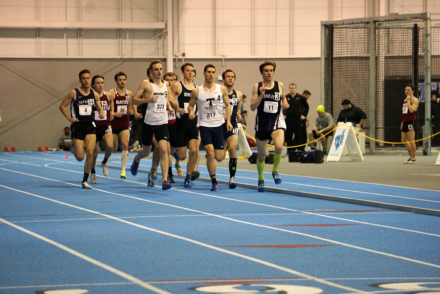 Indoor Track Runs Twice on Weekend