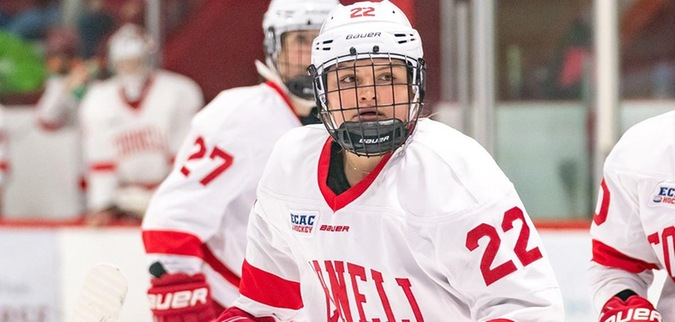 Mills' late tally leads Cornell to tie with Penn State