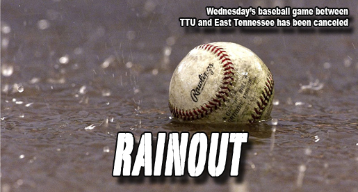 Tech's baseball game against East Tennessee has been canceled