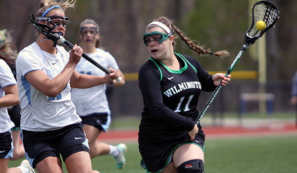 Wilmington Women's Lacrosse Season Comes to a Close with 21-10 Loss to Top Seed Holy Family in CACC Semifinals