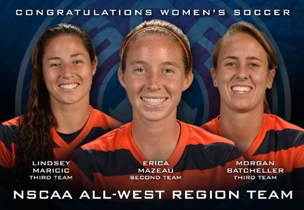 Trio of Titans Receive All-Region Honors