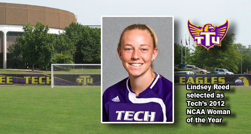 Top of the Class: Reed named Tech's NCAA Woman of the Year