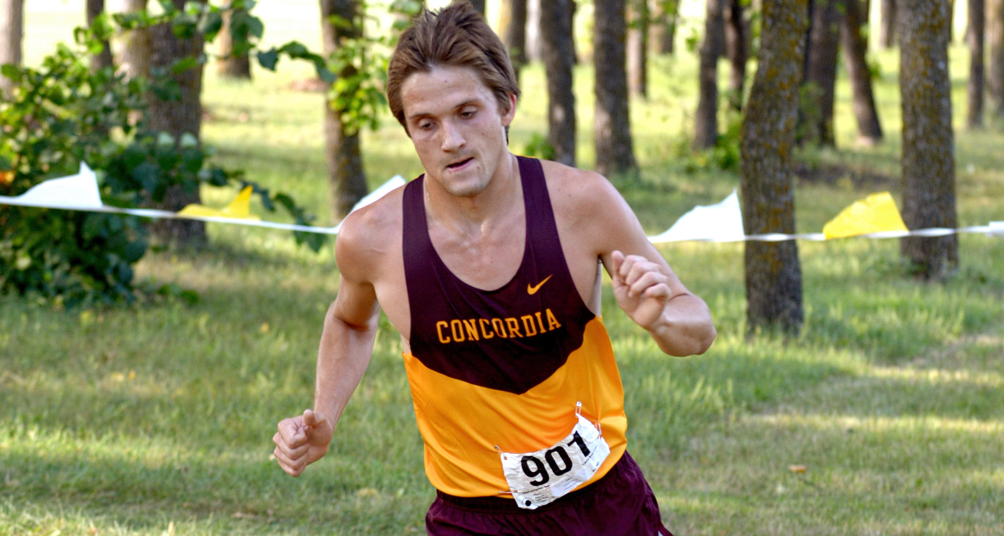Junior Brandon Quibell led the Cobbers at the St. Olaf Invite. He has led the team in both meets he has participated in this season.