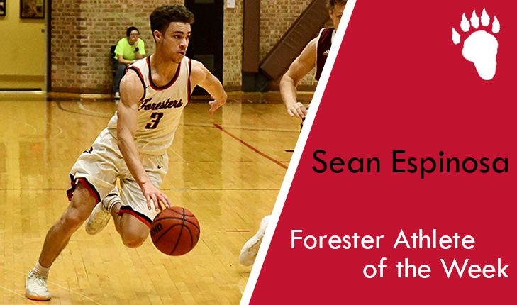 Sean Espinosa Named Forester Athlete of the Week