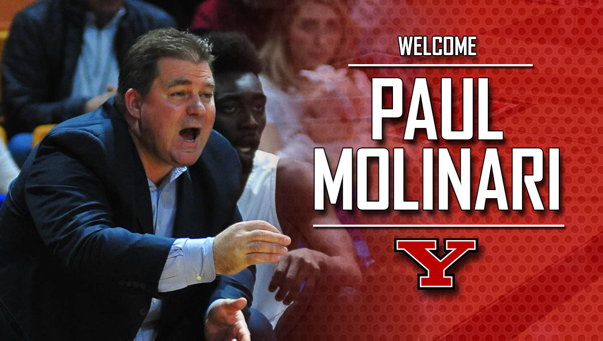 Paul Molinari Named YSU Men's Basketball Assistant Coach