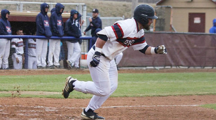 The Blue Dragon baseball team splits with Dodge City, winning 12-3 in the second game after falling 5-4 in the first. The series shifts two Hobart-Detter Field at 2 p.m. on Friday. (Bre Rogers/Blue Dragon Sports Information)