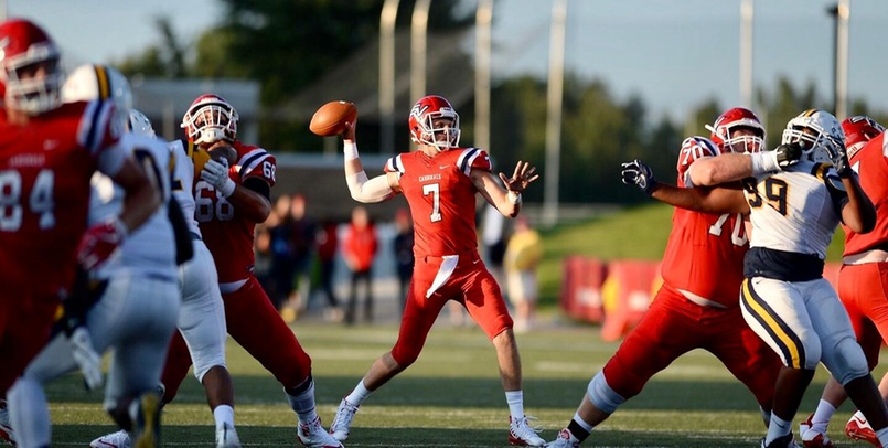 Ryan Conklin threw for 303 yards and a career-best four touchdowns in the victory...