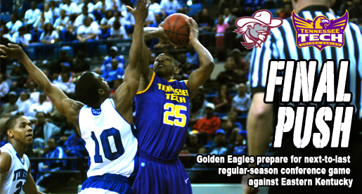 Golden Eagles look to sweep season series with Eastern Kentucky