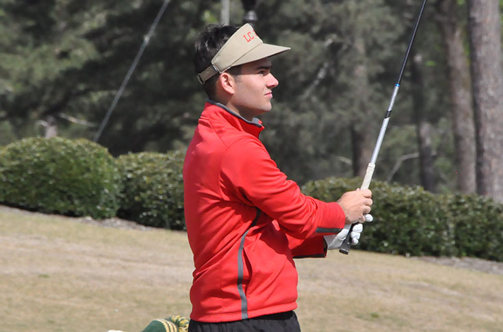 Golf: Panthers finish third at USA South Championship; Logan Lanier earns spot on All-Tournament team