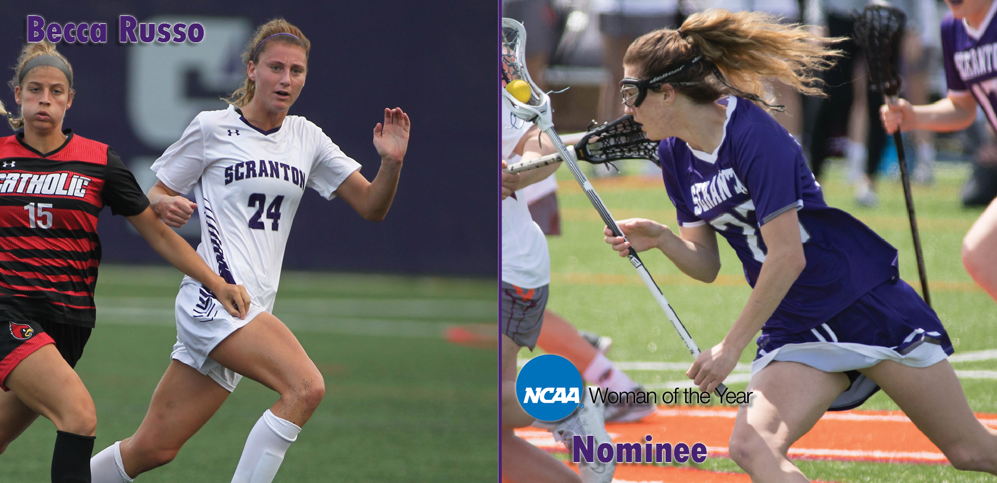 Rebecca Russo '20 Nominated for NCAA Woman of the Year Award
