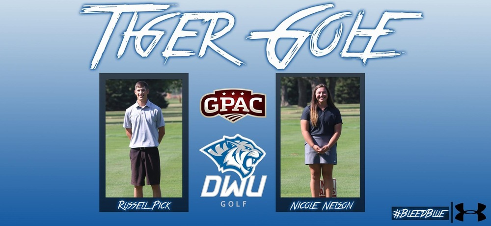 Two DWU golfers named to All-GPAC Team