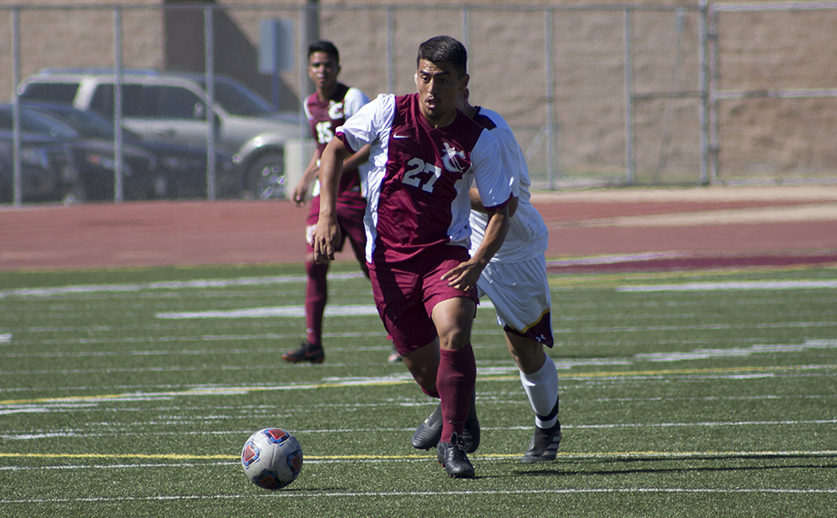 Men's Soccer Drops Conference Home Opener