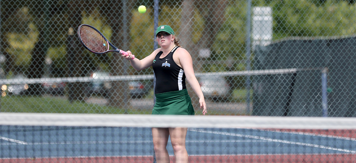 Women's Tennis Team Collects win over Hawks in Empire 8 Action