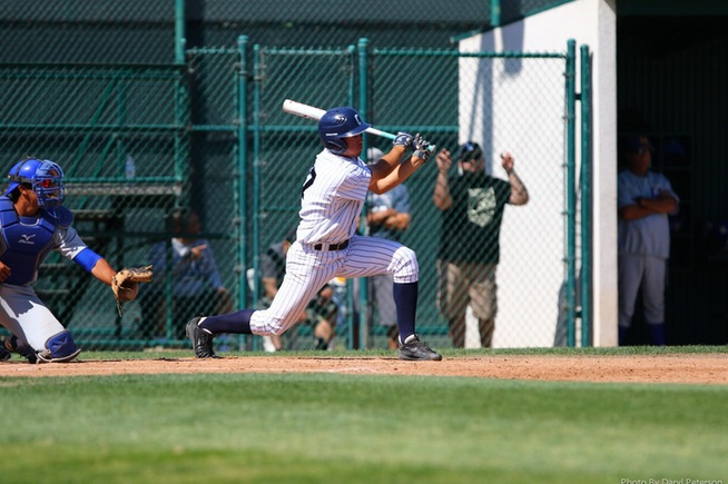 File Photo: Derrick Edwards drives in three runs in loss